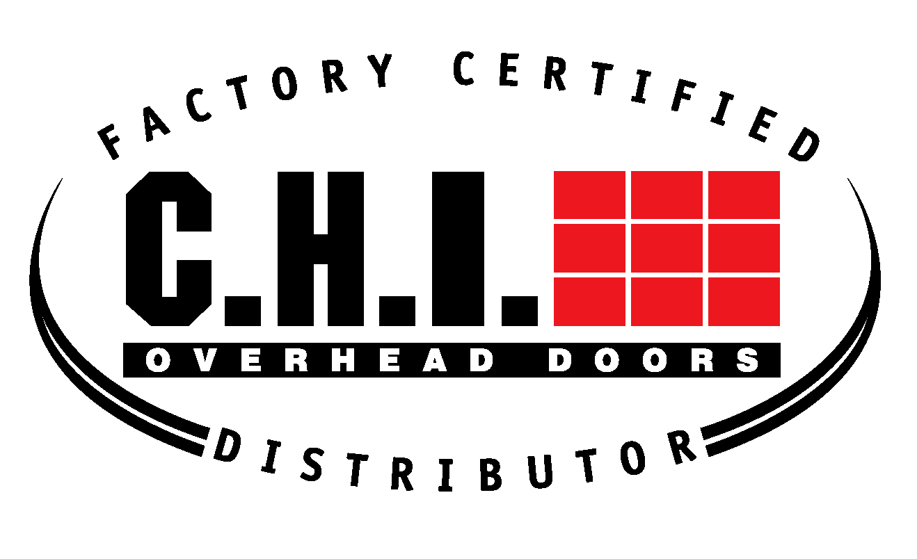 Picture of CHI Factory Certified Logo for Garage Door Repair Company Action Overhead Door in Louisville, KY